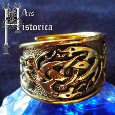 Kelten Ring 3 Bronze Wikinger Viking Celtic LARP