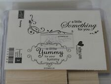 Stampin Up! Yummy - New Unmounted - 3 Stamp Set