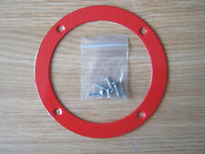 RED GEAR GAITER TRIM RING UNIVERSAL FIT KIT CAR ETC *NEW*