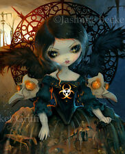 Jasmine Becket-Griffith art print fairy angel SIGNED Unseelie Court: Pestilence‏