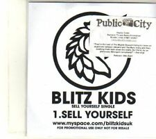 (DT473) Blitz Kids, Sell Yourself - DJ CD