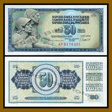 Yugoslavia 50 Dinara, 1981 P-89b Unc
