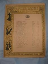 Loin Du Bal Sounds From The Ball Sheet Music Vintage Piano Solo Ernest Gillet O
