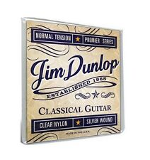 DUNLOP DCP8 HIGH QUALITY BALL END CLASSICAL NYLON GUITAR STRINGS - BRAND NEW!