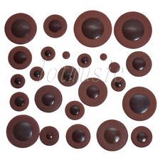 28*Dark Brown Soprano Saxophone Woodwind Leather Pad for Yamaha SIZE replacement