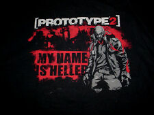 Prototype 2-My Name is Heller-The Test Subject-Video Game-PS3-xbox-T-Shirt-L