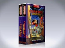 NEW custom game storage cases CHIP 'N' DALE RESCUE RANGERS 1 and 2 -No Game- NES