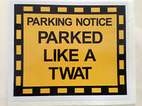 Joke Car Parking Ticket penalty notice charge parking fine wallet Prank Wind up