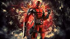"""MARVEL  """" Deadpool """"    Mutant  X-men    Fridge Magnet 4""""x6""""  Decor  #4"""