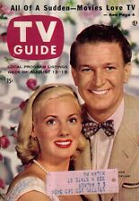 1955 TV Guide August 13 Beat the Clock; Cisco Kid; Barbara Nichols cover girl