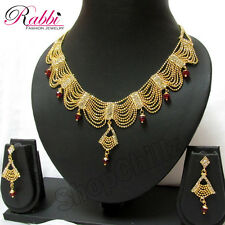 Gold plated Frill & Pop Necklace Set Rani Haar