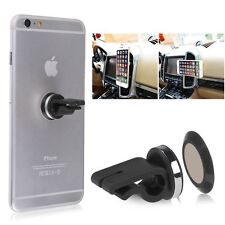 Car Air Vent Clip On Magnetic Mobile Phone, Tablet, GPS Dash Holder Mount Kit