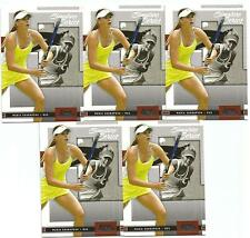5 CARD LOT 2005 ACE MARIA SHARAPOVA RC #4 PLEASE READ NOT MINT SIGNATURE SERIES