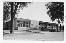 Whitewater WI RPPC Campus Elementary School Real Photo Vintage Postcard