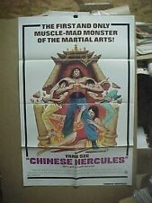 CHINESE HERCULES, orig 1-sht / movie poster (Yang Sze) - martial arts