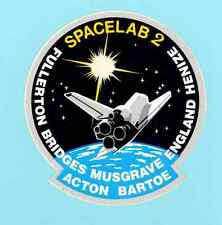 NASA STS-51-F Spacelab 2 Space Shuttle Challenger USA 1985 Crew Patch Sticker