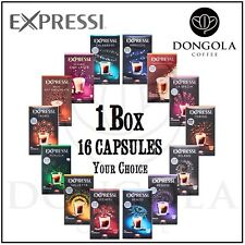 1 BOX (16) You Choose Expressi K-fee Automatic Coffee Machine Capsules Pods ALDI