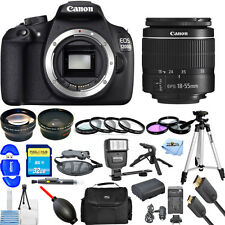 Canon EOS 1200D / T5 DSLR Camera With 18-55mm III Lens!! MEGA BUNDLE BRAND NEW!!