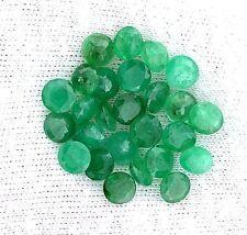 ONE 6mm Round Natural Emerald Gem Stone Gemstone EBS1907