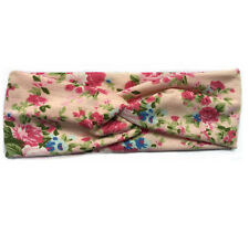 Newly Women Girl Floral Turban Twisted Knotted Hair Band Twist Knot Head Wrap 1X