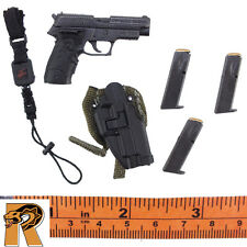 SAS Black Ops - HK Pistol & Holster Set - 1/6 Scale - DID Action Figures