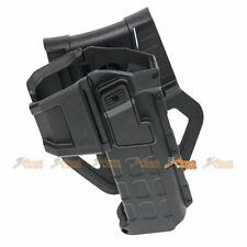 Polymer Hard Case Movable Holster for Marui WE Army 1911 Hi-Capa 5.1 Airsoft BK
