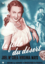 DP La fille du désert (1949) ColoradoTerritory Raoul Walsh Virginia Mayo Western