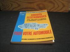 F. HURE: Circuits électroniques pour votre automobile