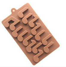 Musical Notes Silicone Cake Mould Baking Chocolate Ice Cube Tray Fun Music