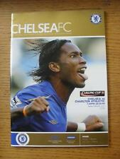 26/10/2005 Chelsea v Charlton Athletic [Football League Cup] (No apparent faults