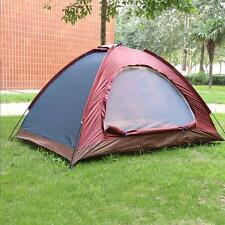 Pop Up Outdoor Camping Hiking Tents Single Layer Waterproof Automatic Instant
