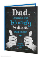 Brainbox Candy Father's Day brilliant greeting card humour dad funny fathers