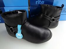 NIB STRIDE RITE 13M 13 Girls Motorcycle Boots Made 2 Play Winnie Little kid $45
