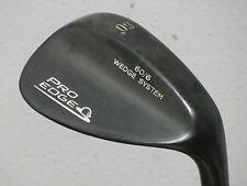 Pro Edge Stainless Black 60* Wedge Wedge Flex Steel Very Nice!!