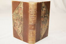 SHAKESPEARE T 11  LEMERRE RELIURE FRANCOIS VICTOR HUGO  OEUVRES