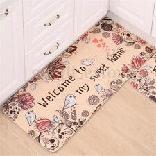 Welcome to My Home Durable Floor Mat Door Rug Non Slip Indoor Outdoor Carpet