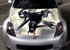 Anime Full Color Graphics Adhesive Vinyl Sticker Fit any Car Hood Bonnet #096