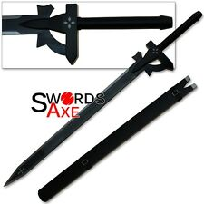 Sword Art Online Kirito's Elucidator Sword Replica Anime Kazuto Kirigaya Black