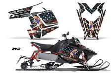 AMR Racing Sled Wrap Polaris Pro RMK Rush Snowmobile Graphics Kit 11-14 WW2 BOMB