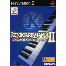 Used PS2 KeyboardMania II: 2nd Mix & 3rd Mix SONY PLAYSTATION JAPAN IMPORT