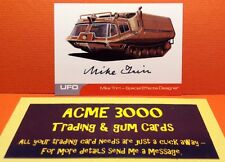 Gerry Anderson UFO Unstoppable Mike Trim Autograph Card MT1 Special FX Designer