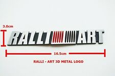 3D EMBLEM BADGE STICKER DECAL METAL RALLI-ART LOGO