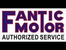 Fantic Motor Car Club Shop Display Logo Advertising Banner