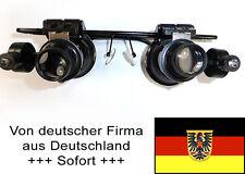Uhrmacher-Lupenbrille, 20-fach vergrößernd, 2-fach beleuchtet, verstellbar