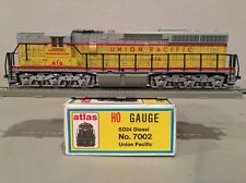 Atlas 7002 HO Scale SD24 Diesel Engine Union Pacific Used, Runs Well