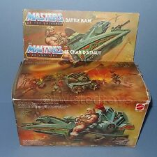 VINTAGE 1981 80s MATTEL MOTU HE-MAN (HEMAN) BATTLE RAM VEHICLE COMPLETE BOXED