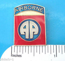 US ARMY USA 82nd AIRBORNE   - hat pin , lapel pin , tie tac , hatpin  GIFT BOXED