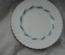 "Minton Dinner Plate Downing Fine Bone China Spiral Edge 10 1/2"" S665"
