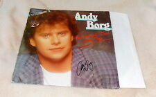Andy Borg, original signed 12`LP-Cover *Ich brauch dich jeden Tag* mit LP