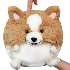 "SQUISHABLE Plush Mini CORGI 7"" round stuff animal Amazingly soft NEW in Pkg"